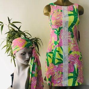 LILLY PULITZER For Target FAN DANCE DRESS NWT Sz 4